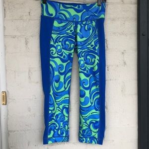"Lilly Pulitzer 21"" inseam Luxletic crops"
